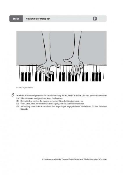 Alkoholabhängigkeit: Klavierspieler-Metapher