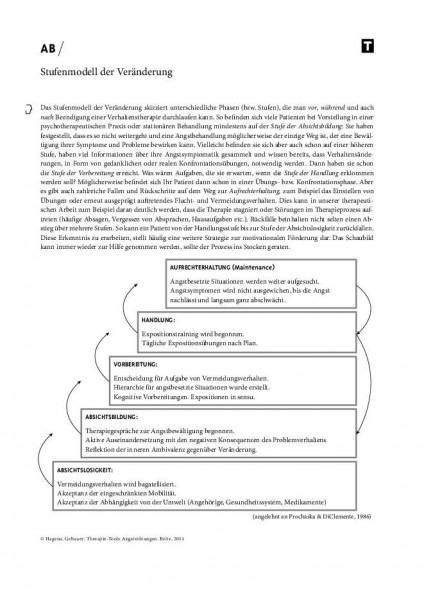 Angststörungen: Stufenmodell der Veränderung