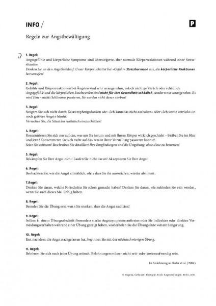 Angststörungen: Regeln zur Angstbewältigung