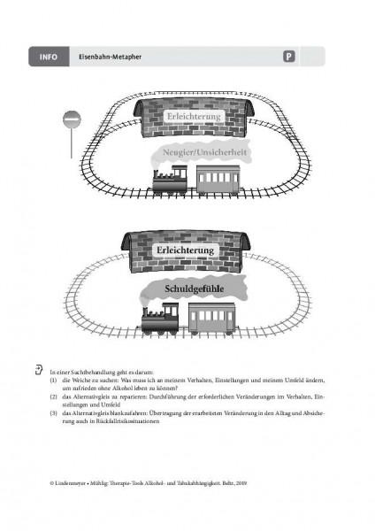 Alkoholabhängigkeit: Eisenbahn-Metapher