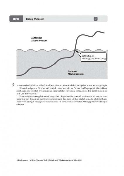 Alkoholabhängigkeit: Eisberg-Metapher