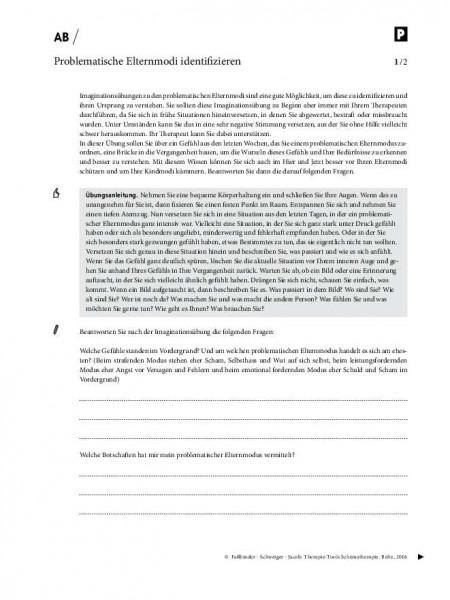 Schematherapie: Problematischen Elternmodi identifizieren