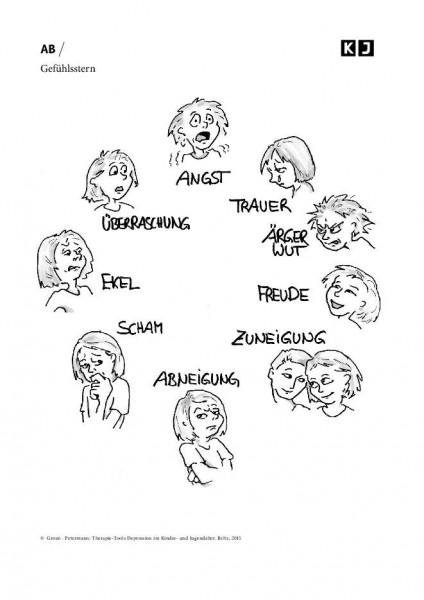 Depression: Gefühlsstern