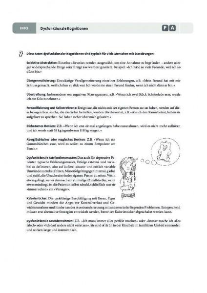 Dysfunktionale Kognitionen bei Essstörungen