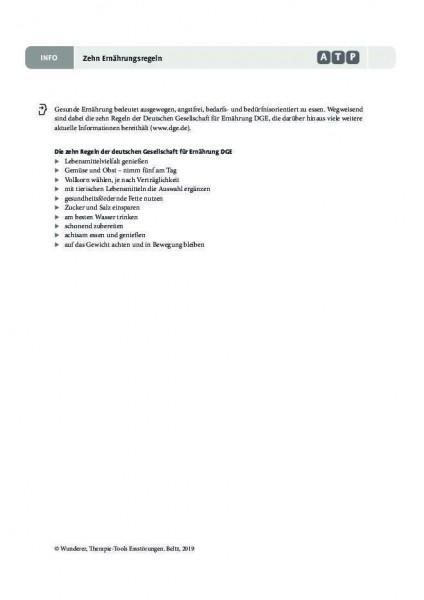 Zehn Ernährungsregeln