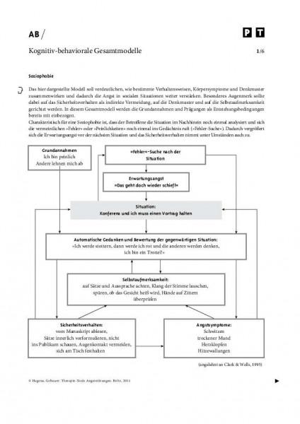 Kognitiv-behaviorale Gesamtmodelle von Angststörungen