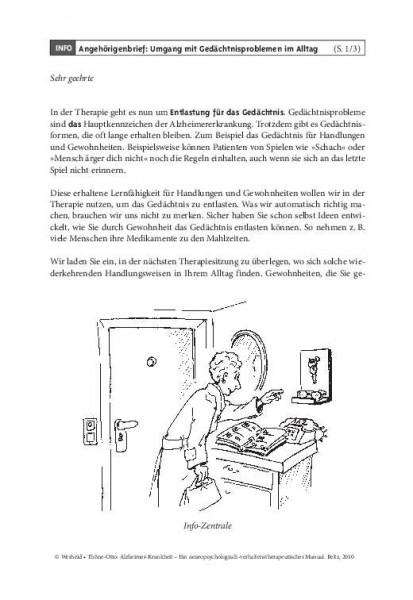 Kordial: Angehörigenbrief 3 – Umgang mit Gedächtnisproblemen im Alltag