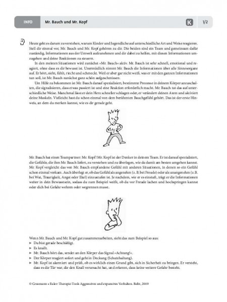 Aggression: Mr. Bauch und Mr. Kopf