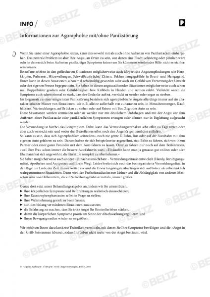 Informationen zur Agoraphobie mit/ohne Panikstörung