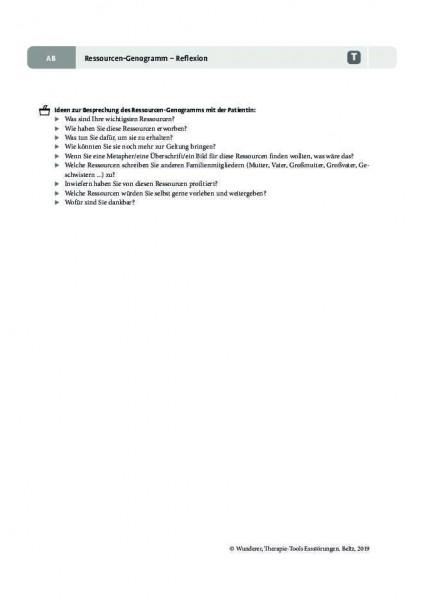 Essstörungen: Ressourcen-Genogramm – Reflexion