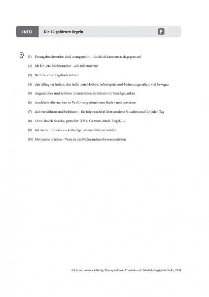 Tabakabhängigkeit: Die 10 goldenen Regeln