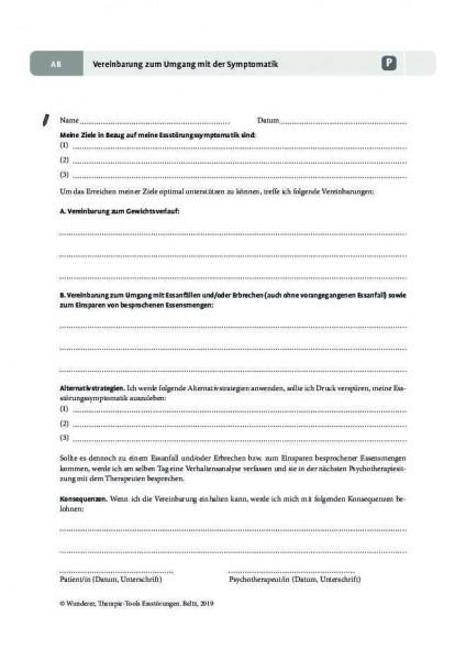 Essstörungen: Vereinbarung zum Umgang mit der Symptomatik