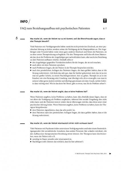 FAQ zum Beziehungsaufbau mit psychotischen Patienten