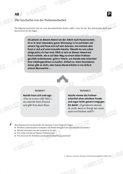 Emotionsregulation: Die Geschichte von der Pralinenschachtel