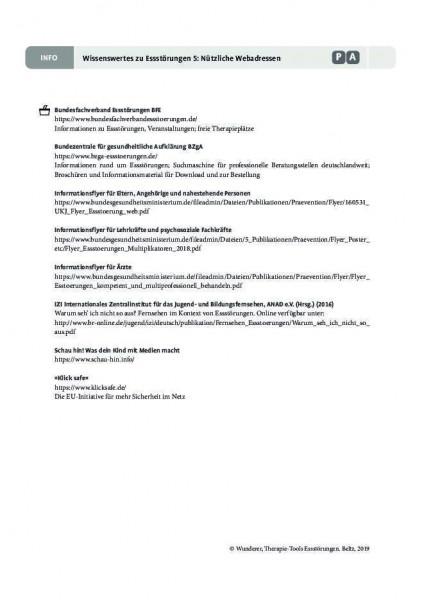 Wissenswertes 5: Nützliche Webadressen zum Thema Essstörungen