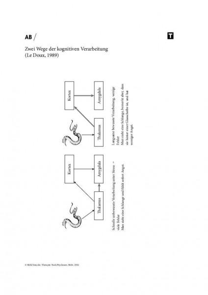 Psychosen: Zwei Wege der kognitiven Verarbeitung (Le Doux, 1989)