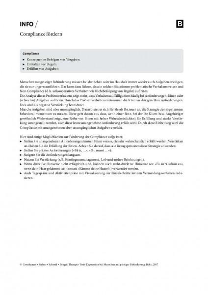 Depression und geistige Behinderung: Compliance fördern