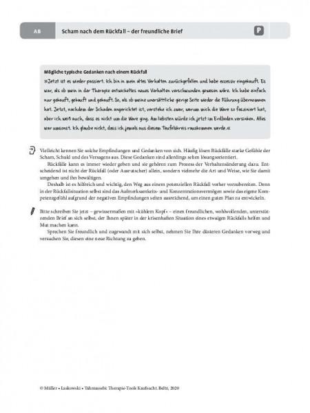 Kaufsucht: Scham nach dem Rückfall – Der freundliche Brief