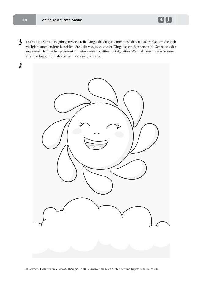 Sonne Kinder Und Erziehung Kindergartenbeginn 4