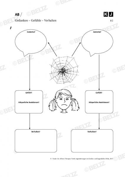 Angststörungen bei Kindern und Jugendlichen: Gedanken – Gefühle – Verhalten