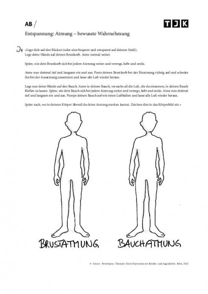 Depression: Entspannung: Atmung – bewusste Wahrnehmung