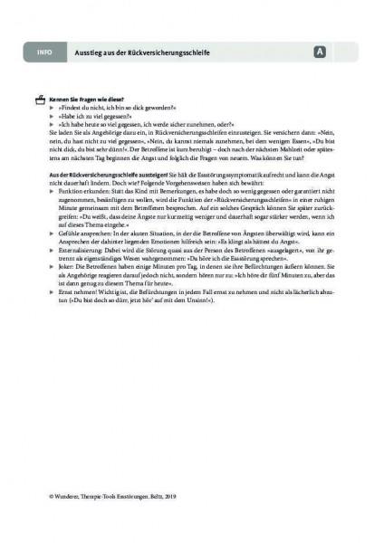Essstörungen: Ausstieg aus der Rückversicherungsschleife