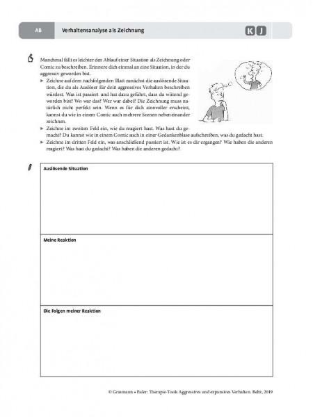 Aggression: Verhaltensanalyse als Zeichnung