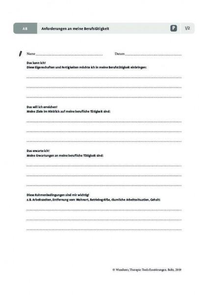 Essstörungen: Anforderungen an meine Berufstätigkeit