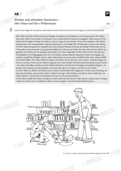 Emotionsregulation: Primäre und sekundäre Emotionen – Herr Maus und Herr Wildermann