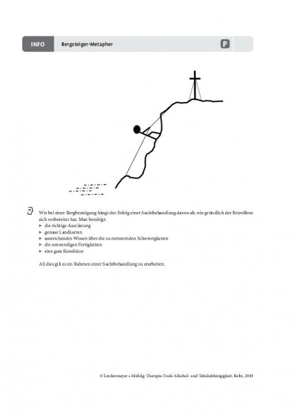 Alkoholabhängigkeit: Bergsteiger-Metapher