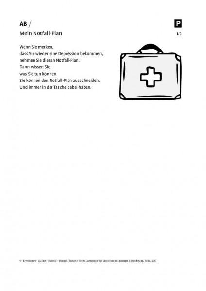 Depression und geistige Behinderung: Mein Notfall-Plan