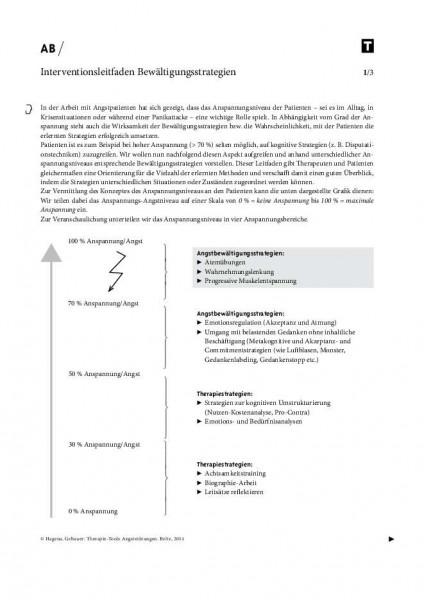 Interventionsleitfaden Bewältigungsstrategien bei Angststörungen