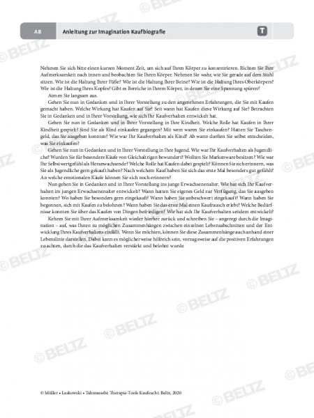 Kaufsucht: Anleitung für Therapeuten zur Imagination Kaufbiografie