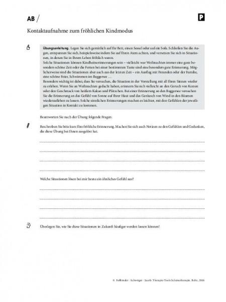 Schematherapie: Kontaktaufnahme zum fröhlichen Kindmodus