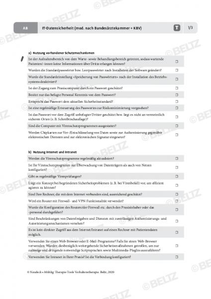 IT-Datensicherheit (mod. nach Bundesärztekammer + KBV)
