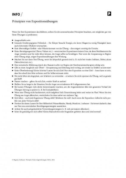 Angststörungen: Prinzipien von Expositionsübungen