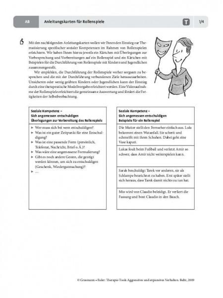 Aggression: Anleitungskarten für Rollenspiele