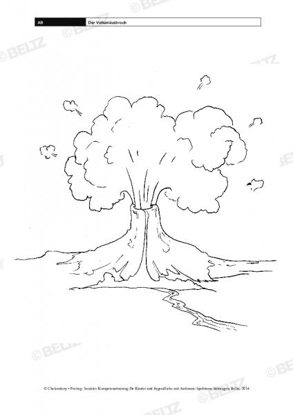 Der Vulkanausbruch im Sozialen Kompetenztraining bei ASS