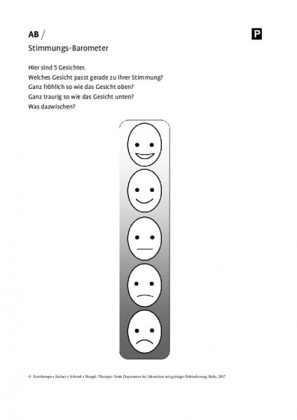 Depression und geistige Behinderung: Stimmungsbarometer