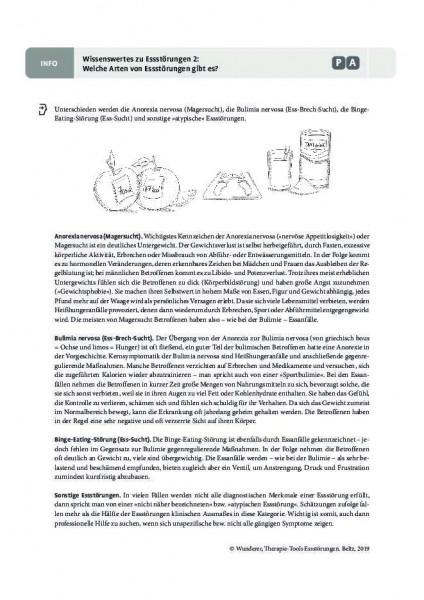 Wissenswertes 2: Welche Arten von Essstörungen gibt es?
