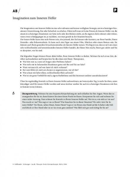 Schematherapie: Imagination zum Inneren Helfer