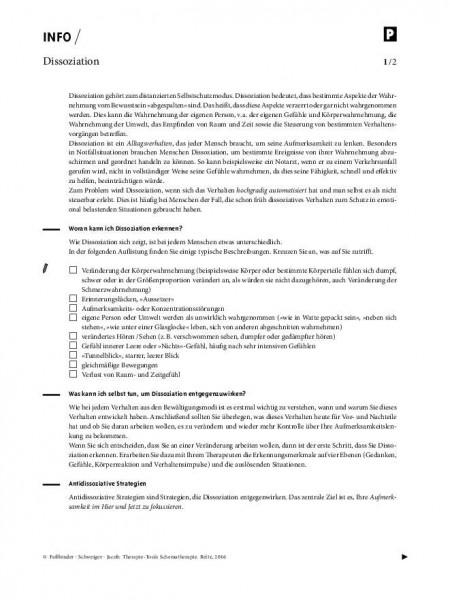Schematherapie: Dissoziation