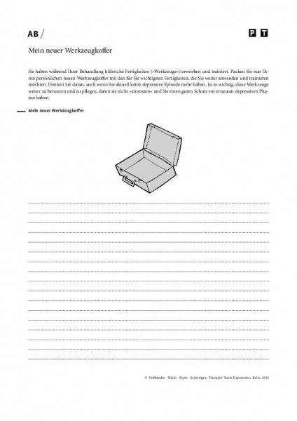 Depression: Mein neuer Werkzeugkoffer