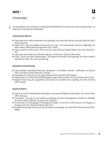 Angststörungen: Literaturtipps