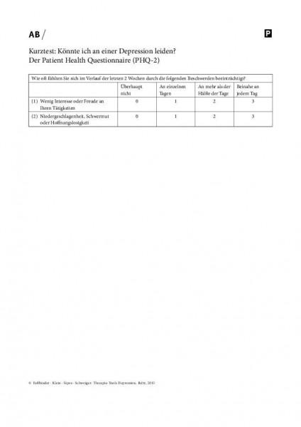 Kurztest: Könnte ich an einer Depression leiden? Der Patient Health Questionnaire (PHQ-2)